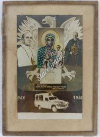 Pamiątka nawiedzenia parafii 1966