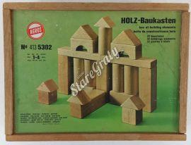 Klocki drewniane - zestaw1
