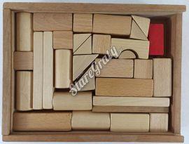 Klocki drewniane - zestaw3